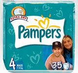pampers памперс active baby 4